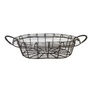 Traditional Wire Basket