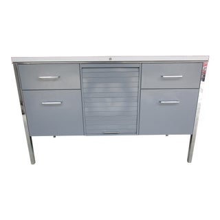 Steelcase Credenza With Tambour Door