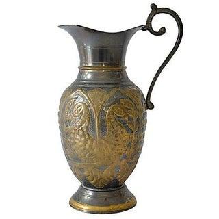 Vintage Exotic Brass Ewer