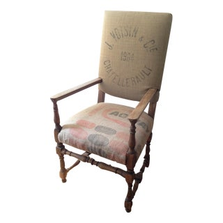 Restoration Hardware 1890's English Baroque Chair