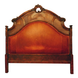 Century King Size Leather Headboard