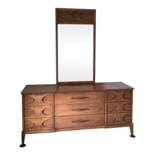 Dresser & Mirror in Perspecta/Brasilia Style