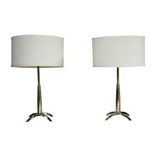 Mid Century Stiffel Rocket Lamps - A Pair