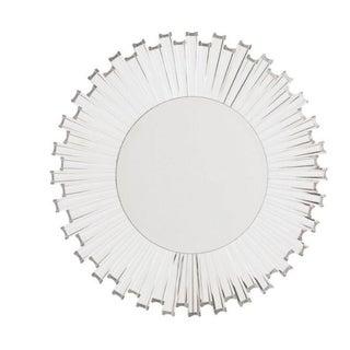 Modern Acrylic Sunburst Mirror