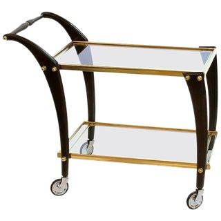 Cesare Lacca Style Bar Cart
