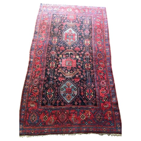 "Semi-Antique Persian Rug - 4'6"" x 7'5"" - Image 1 of 6"
