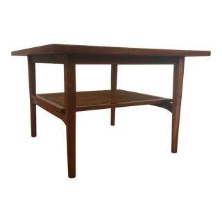 Drexel Declaration Square Walnut Coffee Table