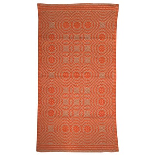 "Italian Marakita Rug Orange - 2'6"" X 4'5"""