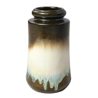 Vintage German Modernist Lava Vase
