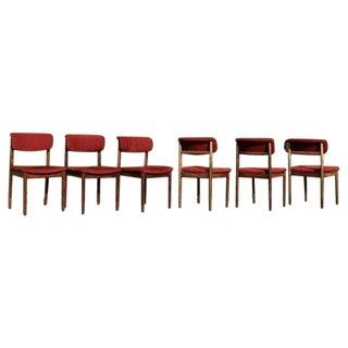 Mid-Century Modern Vamdrup Stolefabrik Rosewood Dining Chairs - Set of 6