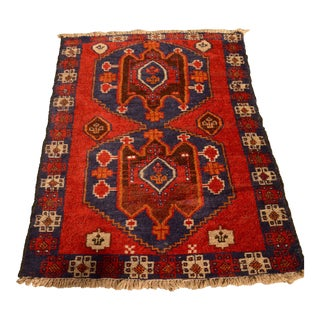 Vintage Traditional Persian Rug - 2′9″ × 4′9″