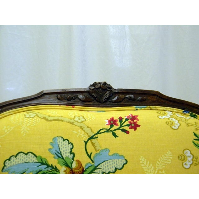Yellow Lady's Chair With Down Cushion - Image 7 of 7