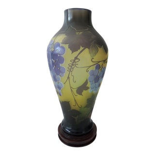 Galle Vine & Grape Vase