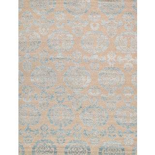 "Pasargad Transitiona Bamboo Silk & Wool Rug - 8'11"" x 11' 8"""