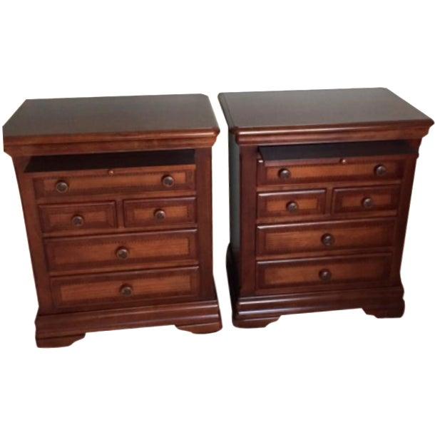 Alexander julian nightstands a pair chairish - Alexander julian bedroom furniture ...