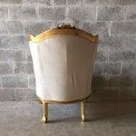 Louis Xvi Style Wingback Chairs A Pair Chairish