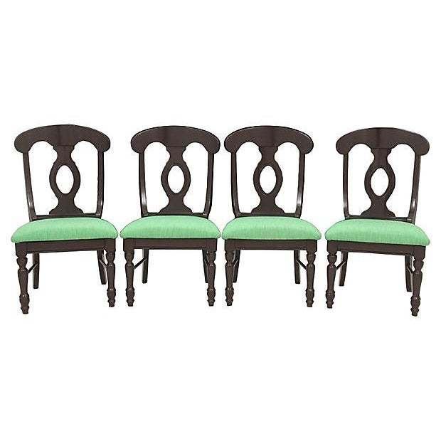 Biedermeier Kate Spade Dining Chairs - Set of 4 - Image 8 of 8