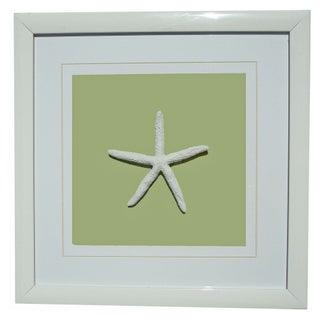 Starfish Shadowbox Art