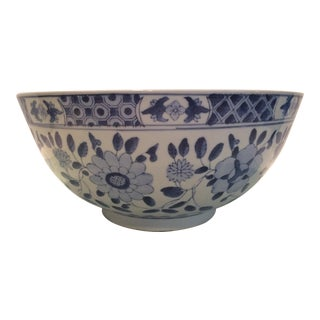 Chinoiserie Blue and White Bowl