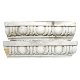 Vintage Terracotta Architectural Elements - Pair