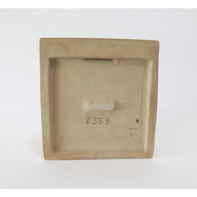 Vintage Bornholm Glazed Decorative Tile - Image 5 of 5
