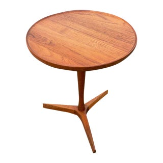 Danish Modern Hans Andersen Tripod Side Table