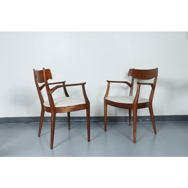 Kipp Stewart for Drexel set of 8 Dining Chairs - Image 4 of 11