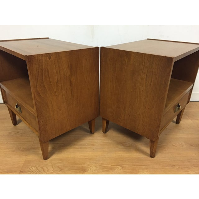 Brasilia Style Nightstands - a Pair - Image 6 of 11