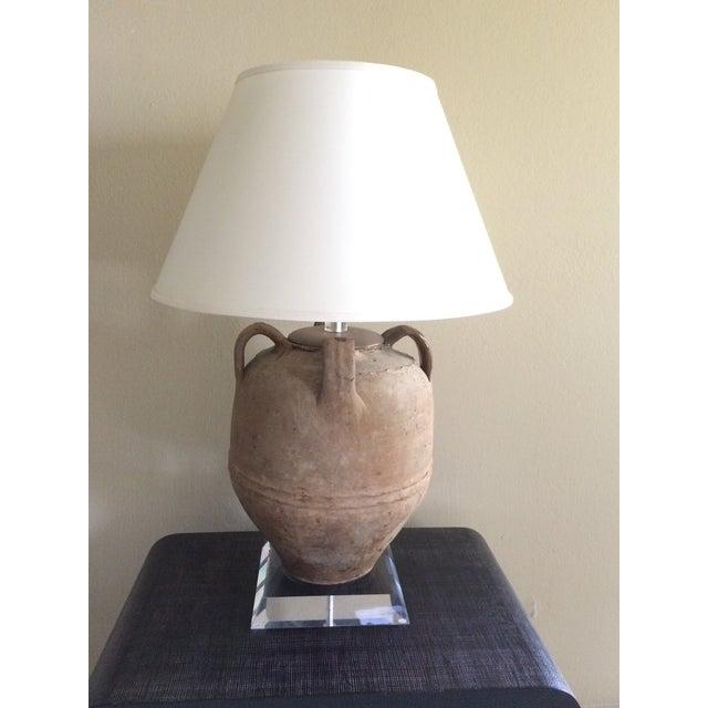 Image of Richard Lindley Olive Jar Lamp