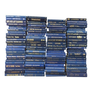 Blue & Gold Book Collection - Set of 100