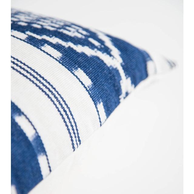 Naturally Dyed Indigo Pillow - Image 3 of 5