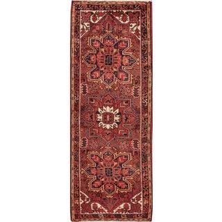 "Apadana Vintage Persian Heriz Rug - 2'9"" x 7'4"""
