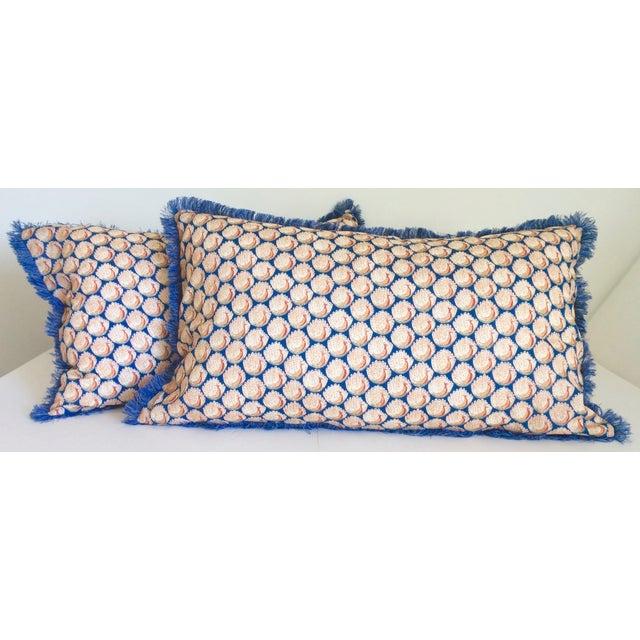 Liberty of London Lumbar Pillows - Pair - Image 2 of 6