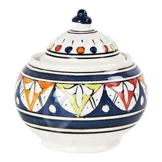 Multicolor Boho Chic Sugar Bowl