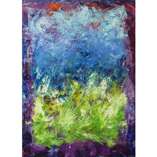 Summer Harvest Abstract Painting