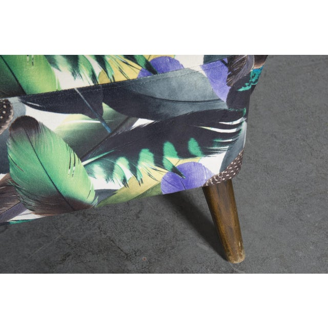 Theo Ruth Armchair Feather Upholstery - Image 9 of 10