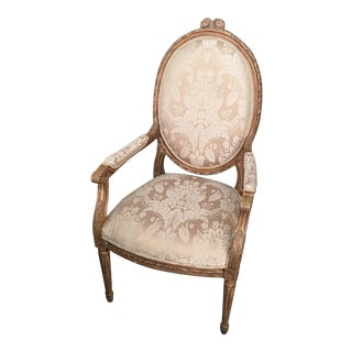 Louis XVI Carved Chair