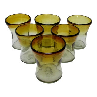 Rustic Mexican Glasses, Set of 6