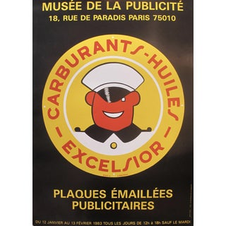1983 French Museum Exhibition Poster