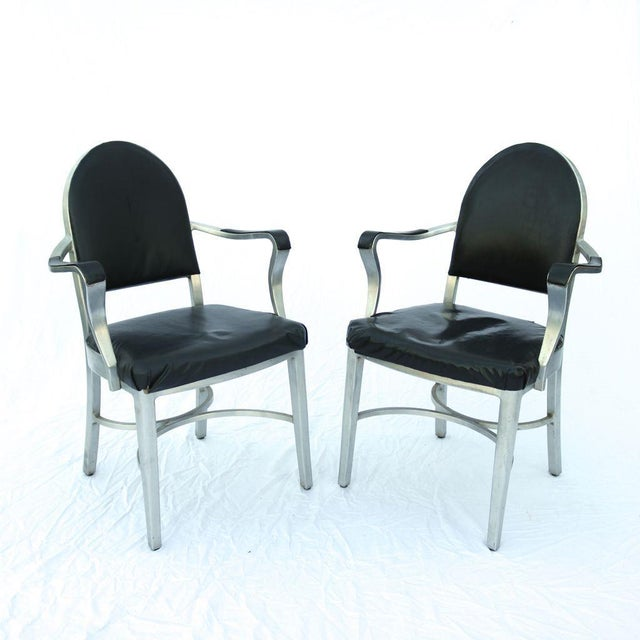 General Fireproofing Co. Cruise Ship Chairs - Pair - Image 3 of 10