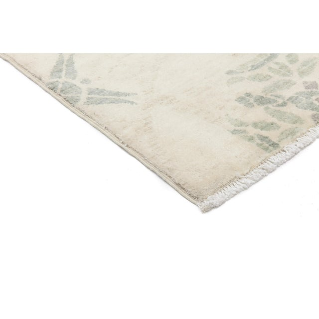 """New Oushak Hand Knotted Area Rug - 4'1"""" x 6' - Image 2 of 3"""
