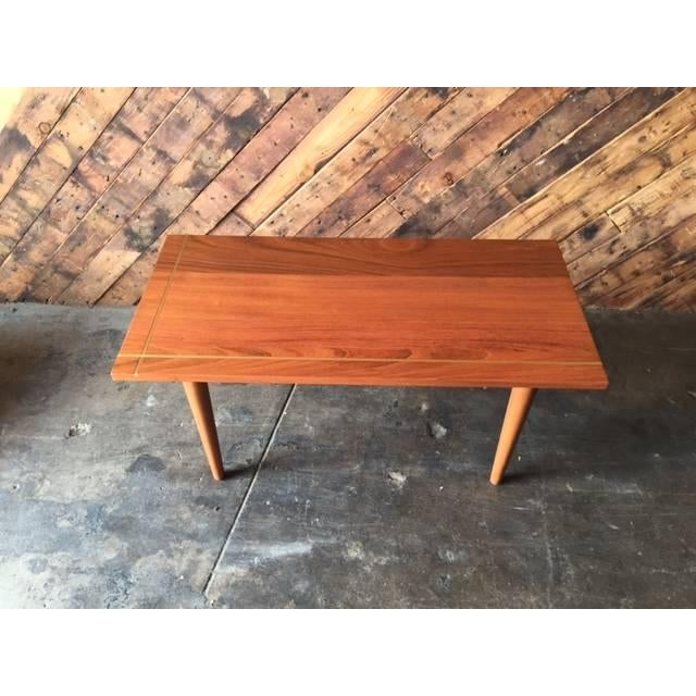 Hand Made Mid-Century Style Coffee Table - Image 5 of 6