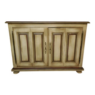 William Draper French Country Distressed Cabinet