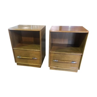 TH Robsjohn-Gibbings Nightstands - A Pair