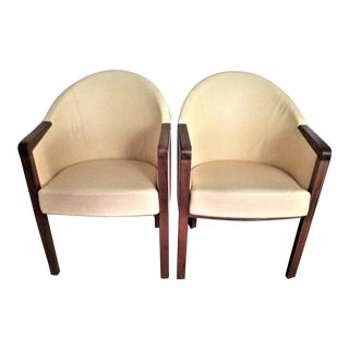 Poltrona Frau Club Chairs - A Pair