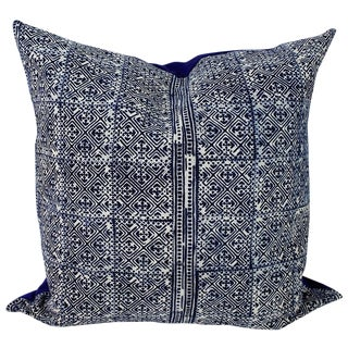 Hmong Lattice Batik Handmade Pillow Cover
