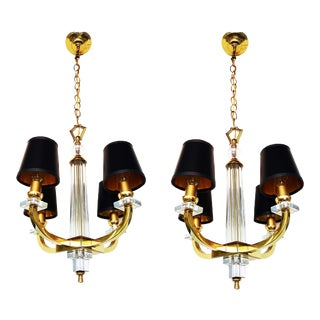 Jacques ADNET Chandeliers