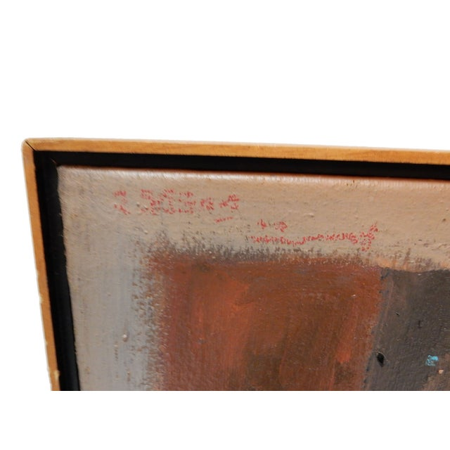 1994 Jose Guedez Original Abstract Oil Painting - Image 4 of 6