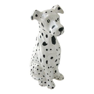 Vintage Ceramic Dalmatian Dog