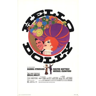 Hello, Dolly! 1969 Poster